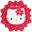 8 Assiettes Hello Kitty No�l