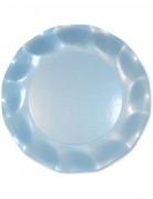 Vous aimerez aussi : 10 Assiettes � dessert bleues perl�