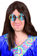 Lunettes hippie adulte