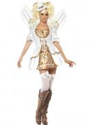 Déguisement ange victorien Steampunk femme