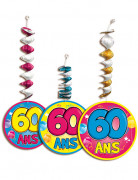 3 D�corations � suspendre accord�on 60 ans