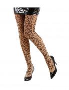 Collants léopard adulte