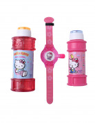 2 Flacons � bulles et montre Hello Kitty