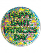 Badge avec épingle Happy Saint-Patrick's Day