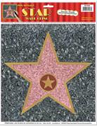 Décoration murale étoile Walk of Fame 27 cm