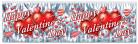 Vous aimerez aussi : Guirlande grise m�tallis�e Happy Valentine's Day