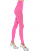 Mitaines longues rose fluo