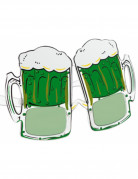 Gafas jarras de cervezas San Patrick