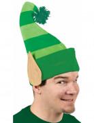 Gorro verde duende San Patrick