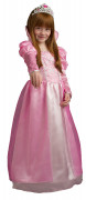 Déguisement princesse victoria rose fille luxe