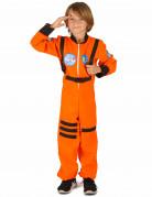 Déguisement astronaute orange garçon