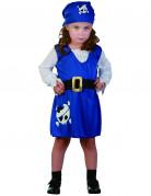Anche ti piacer� : Costume pirata bambina blu
