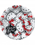 8 Petites assiettes plastique Hello Kitty fun�