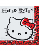 20 Serviettes papier Hello Kitty Fun�