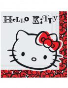 20 Serviettes papier Hello Kitty Fun�
