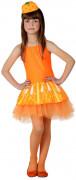 Déguisement orange fille