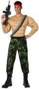 Déguisement militaire musclé homme