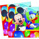 20 serviettes papier Mickey Party Time�