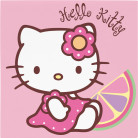 20 serviettes papier Hello Kitty Bamboo�