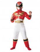 D�guisement Power Rangers� 3D rouge gar�on