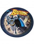 6 Assiettes en carton Batman™ 23 cm