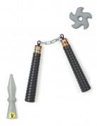 Kit ninja nunchaku enfant en plastique