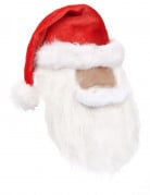 Bonnet de Noël avec barbe