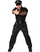D�guisement policier manches courtes homme
