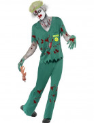 D�guisement zombie auxiliaire m�dical homme Halloween