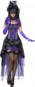 Déguisement comtesse violet sexy femme