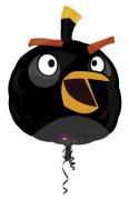 Ballon aluminum géantAngry Birds™ noir