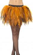 Tutu orange et noir femme