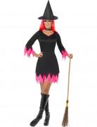 También te gustará : Disfraz bruja mujer Halloween rosa y negro