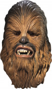 Masque latex luxe Chewbacca Star wars™ adulte