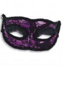 Misschien ook leuk... : Paarse Venetiaans masker voor volwassen