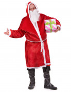 Déguisement Père Noël avec barbe adulte