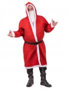 Déguisement manteau Père Noël adulte