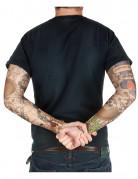 Manches faux tatouages 38 cm