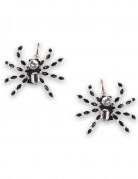 Boucles d'oreilles araignée femme Halloween