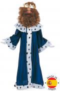 Déguisement bleu Roi Mage Melchior enfant