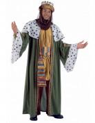 Disfraz de Rey Mago Baltasar de lujo adulto