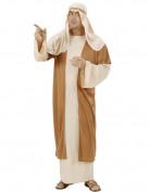Déguisement Joseph beige et marron homme Noël