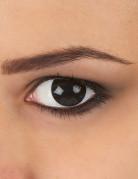 Lentilles fantaisie oeil noir adulte