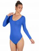 Body bleu adulte