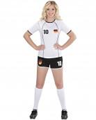 Déguisement footballeur Allemagne femme