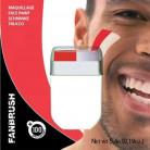 Maquillage rouge et blanc
