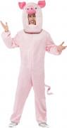 Déguisement cochon mascotte adulte