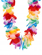 Collier Hawaï multicolore luxe adulte