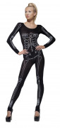 Déguisement imprimé squelette femme