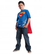 T-Shirt und Umhang Superman Man of Steel� f�r Kinder